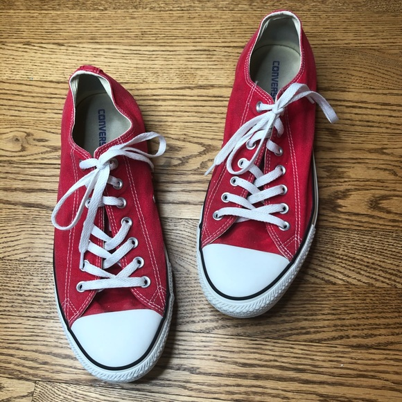 Converse Chuck Taylor All Star Oxford Sneaker Red